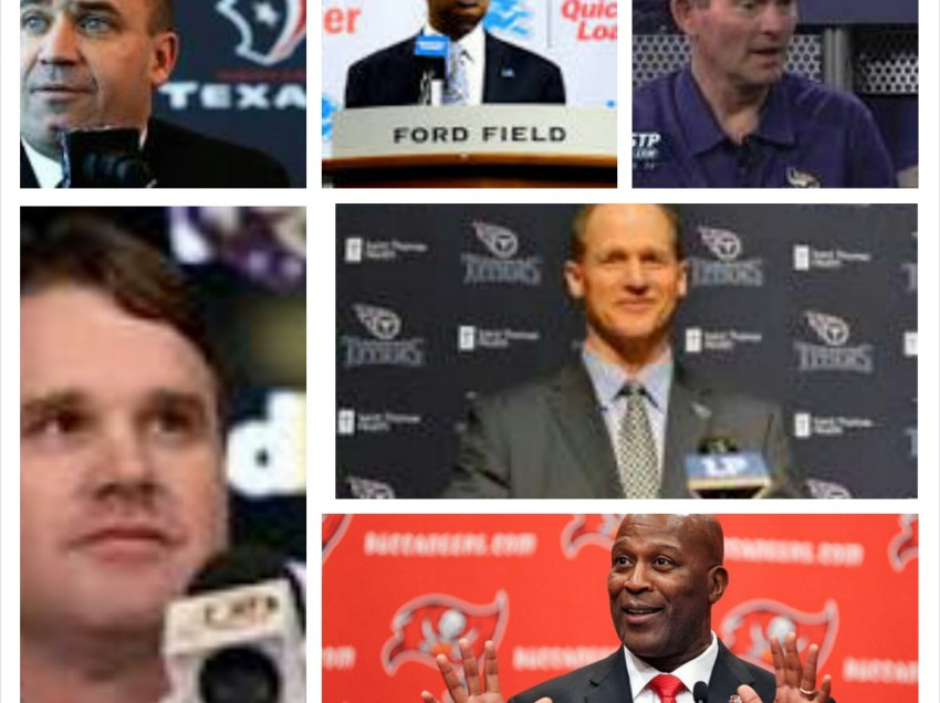 NFL Coaching Changes:  What Went Wrong, The Fix, Will The Fix Work?