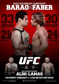 UFC 169 Preview:  Barao vs Faber; Aldo vs Lamas