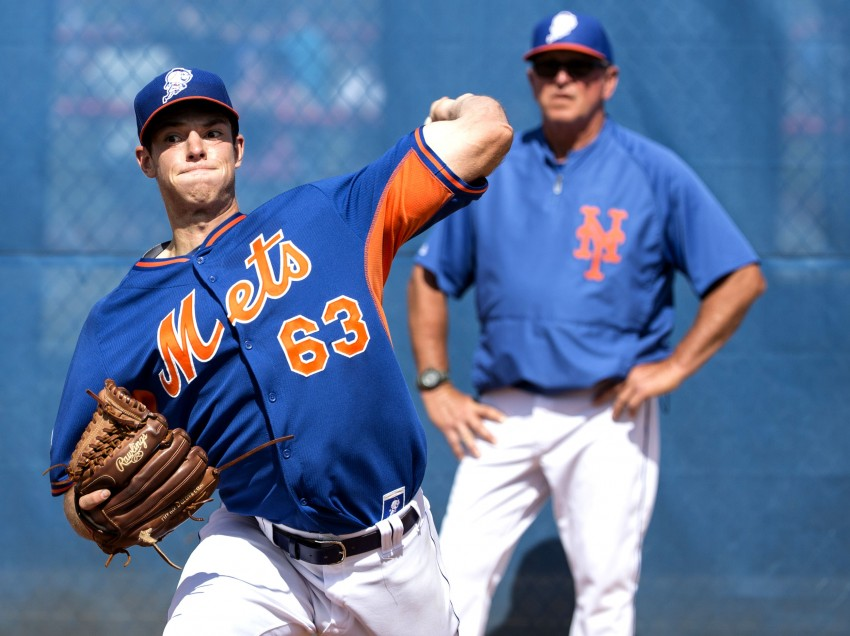 Mets' Minor League Pitcher Steven Matz Earns His Way into Prospect Watch Talk