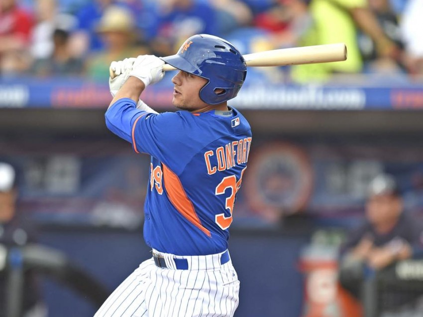 New York Mets Prospect Michael Conforto Impresses in Spring Training Game