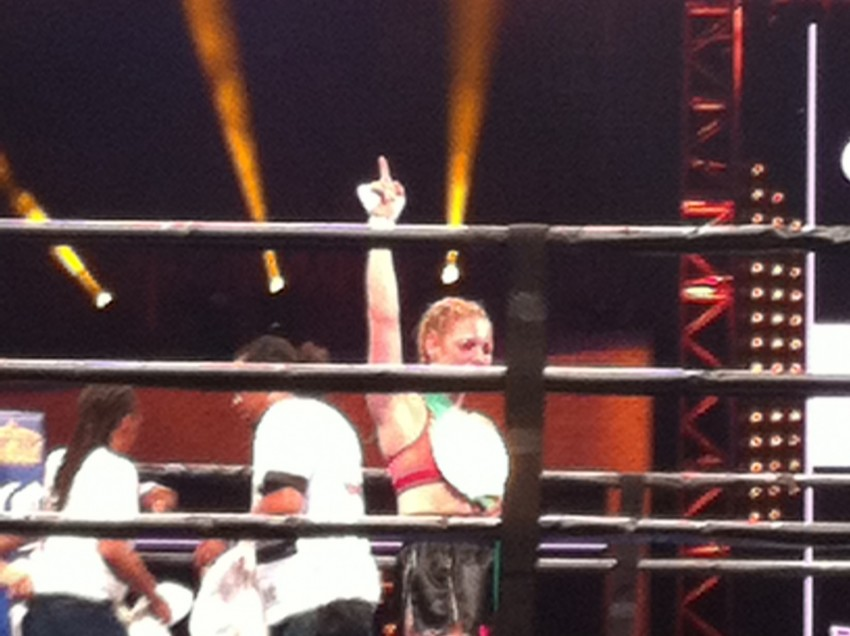 Heather Hardy TKOs Opponent In Rematch At The Barclays To Remain Undefeated