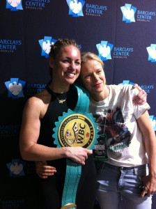 Heather Hardy and Photographer/friend.